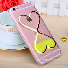 Dynamic Liquid Glitter Quicksand Clear Soft Case Cover For iPhone 7 6 6s Plus