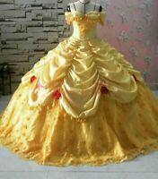 Off The shoulder Sweet 16 Quinceanera Dresses Lace Ruffles 3D Floral Applique.