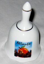 "Ceramic White 3 1/2"" Atlanta Design Bell"