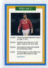 (Jj185-100) RARE Trade Card Premier of Ian Botham ,Cricketer 1997 MINT