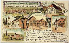CPA  Precurseur GRUSS LANDSER 1899 scan ht def  Lae590