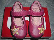 Umi Girls Geneva Raspberry Flat Mary Jane Shoes US SIZE 5 Euro 20 ST# 260346
