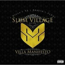 Villa Manifesto by Slum Village (CD, Sep-2010, Fat Beats)