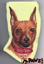 Miniature Pinscher Dog Breed Sticky Notes Memo Pad