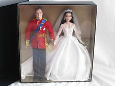 Prince William & Catherine/Kate Middleton Royal Wedding Barbie Giftset 2012 NEW