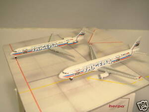 "Herpa Wings 500 Aero Lloyd A321 + MD-83 ""Trigmea set"" 1:500"