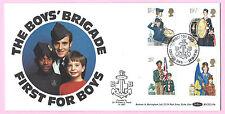 Benham 1982 Fdc-Chicos Brigada-las organizaciones juveniles-Shs primero para niños, SW6