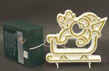 Dept 56 Sv Village Brite Lights Santa, Brite Lights Reindeer, And Adapter - Nib