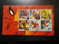 GB 2019~Marvel Comics~Prestige Stamp Booklet Pane~2~ex DY29~UK Seller