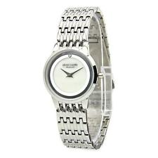 Pierre Cardin Classic Analog Diamond Accented Mother-Of-Pearl Watch