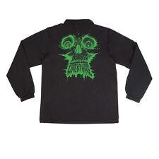 Creature Skinned Coach Windbreaker Jacket Black Xl