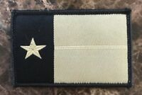 "BuckUp Tactical Morale Patch Hook Texas Lonestar Tan 3x2/"" Patch #14"