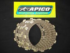 HONDA CR250 CR500 1987-1989 apico EMBRAYAGE fibre PLAQUETTES friction fp111-7
