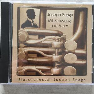 Blasorchester JOSEPH SNAGA: Mit Schwung und Feuer (CD AL/K 020303 / OVP)