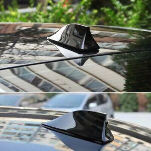 Universal ABS Car Roof Style Shark Fin Shape Antenna Radio Signal Aerials AM/FM