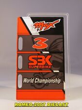 1:12 Pit board - pitboards Max Biaggi World Championship SBK 3 to minichamps NEW