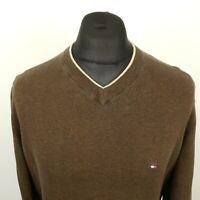 Tommy Hilfiger Mens   Pullover MEDIUM  Cotton Sweater Jumper Knit