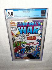 Marvel Comics 1992 The Infinity War #4 CGC 9.8 Thanos Avengers Endgame Starlin