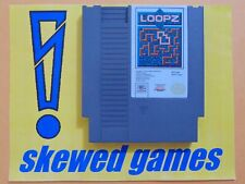 Loopz - Cart Only - NES Nintendo