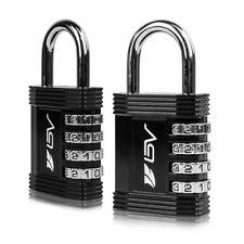 BV 4 Digit Combination Safety Padlock Keyless Gym School Work Lockers PL02-BK-PR