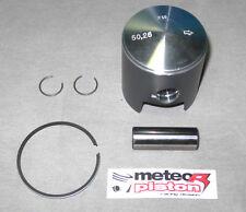Rennkart Kolben Meteor 50.20 für 100ccm ICA Motor mit Ring, Bolzen und Klammern