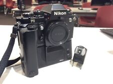 Great Condition Nikon F3   35mm Film SLR Camera Body W/ Md4 Motor drive