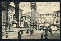 Italie Royaume 1911 Sass. Z24 Carte postale 100% Florence - Avec timbre