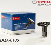 Original TOYOTA LEXUS 22204-30020 MAF Mass Air Flow Sensors OEM DENSO DMA-0106