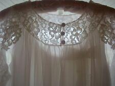 Vintage Ladies Shadowline Gown & Robe Set #231