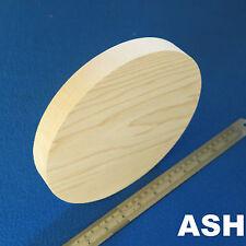 "LOT x 1 CIRCLE 8.0"" / 200 mm WOODEN BLOCKS BUNDLE SET ASH WOOD NATURAL DISCS"
