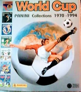 Panini World Cup Collections 1970-1994 Hardback Book