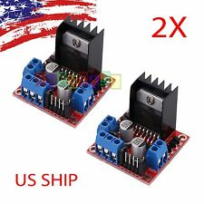 2X L298N DC Stepper Motor Driver Module Dual H Bridge Control Board for Arduino
