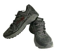 Brooks GTS 17 Black and Gray Running Shoes Athletic Sneakers Mens Size 8D