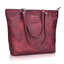 ZMSnow Women Large Tote Purse Handbags PU Leather Shoulder Shopping