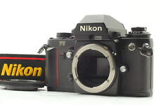 Nikon F3 SLR 35mm Film Camera Black Body from Japan [Exc+4 with Strap]
