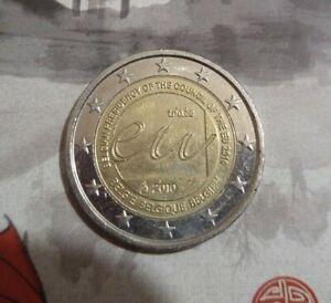2 euros commémorative Belgique 2010 Présidencede l'UE