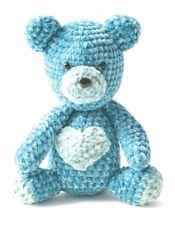 CROCHET PATTERN SOFT TEDDY BEAR