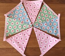 Pretty Provence Floreale con Rose Rosa Blu Verde Bunting shabby chic wedding 1M?