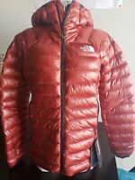 Womens The North Face TNF Summit L3 800-Down Pro Hoodie Insulated Jacket Picante