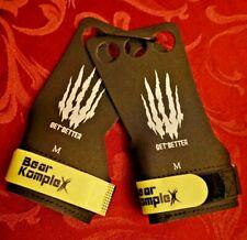 Bear KompleX 3 hole hand grips -Cross-Fit, Gymnastics, Weightlifting  Medium NEW