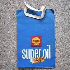 * Vintage Shell Super Oil paper carrier bag *