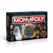 Monopoly Herr der Ringe HdR Brettspiel Gesellschaftsspiel Spiel Deutsch