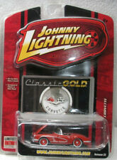 Johnny Lightning 1958 Chevy Corvette (ww) Limited Ed. 1/64 Scale Mint On Card