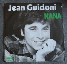 Jean Guidoni, nana / les scarabées, SP - 45 tours Import