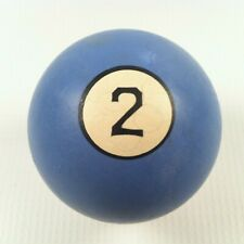 Vintage Clay Replacement Billiards/Pool Ball #2