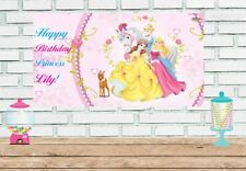 3x6 Princess Vinyl Birthday Banner