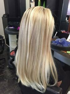 Full Shine U Part Wig Human Hair Remy Straight Solid Color #27P60 U Shape Wig