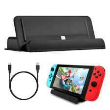 Charging Dock Cradle Station Stand USB Type-C Charging Cable for Nintendo Switch