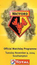 04/05 Watford v Southampton - 09/11/04