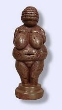 Venus of Willendorf Neolithic Goddess Talisman Bronze Metal Mini Statue #BZW